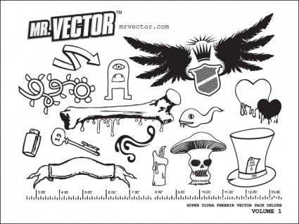 free vector Super Ultra Freebie Pack 1