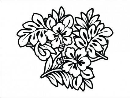 free vector Hibiscus
