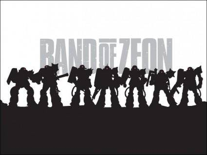 Band of Zeon Zaku Vectors
