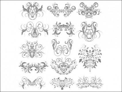 free vector Florar Elements 2