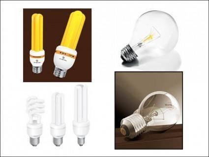free vector Vector Lightbulbs