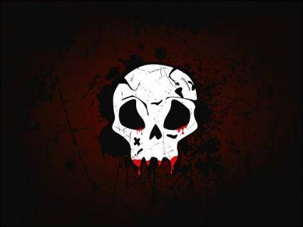 Skull Wallpaper Vector