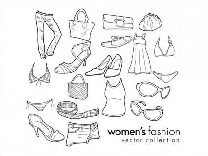 free vector Women's Clothing & Fashion