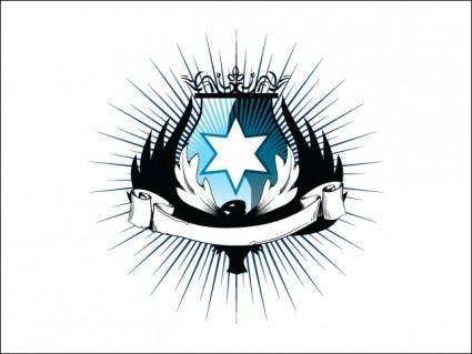 Lord Phoenix Heraldry Vector