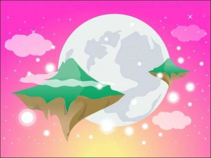 free vector Dreamy World