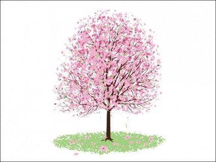free vector Pink Cherry Blossom Tree