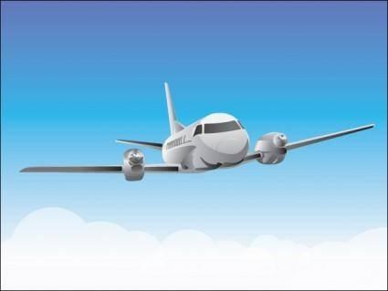 free vector Flying Plane