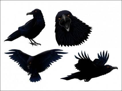 free vector Dark Twitter Bird