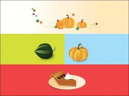 Pumpkin Things Vector