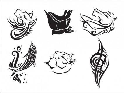 Tattoo Vector Set