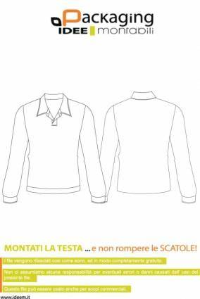 free vector BLOUSE TEMPLATE