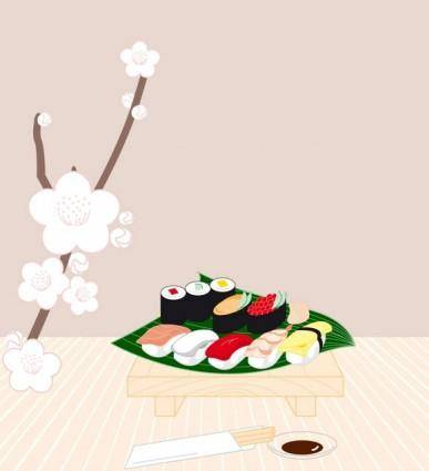 free vector Sushi Vector Graphics