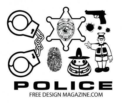 free vector Police Vectors