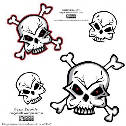 free vector Skull Vector