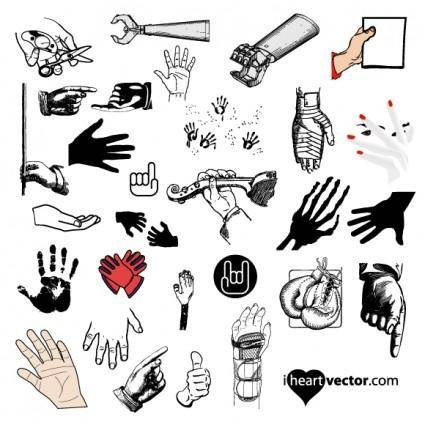 Hand Vector Pack