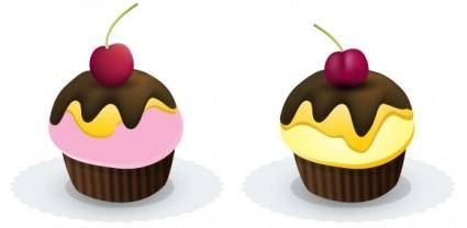 free vector Free Cupcakes in Vectors