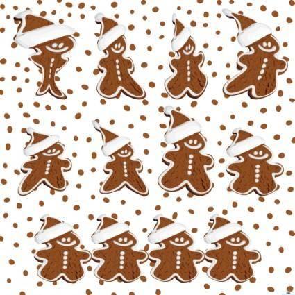 free vector Gingerbread Cookies Vector