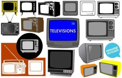 free vector Televisions