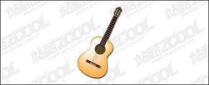 free vector Guitar vector material