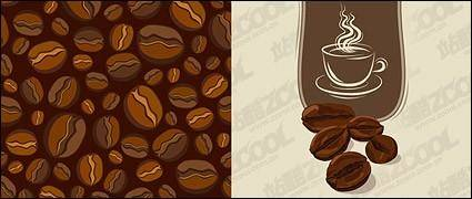 free vector Vector material coffee beans