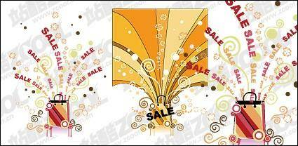 free vector Marketing theme vector material