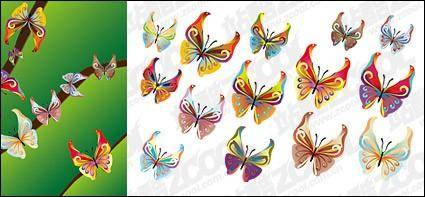 free vector 14 Butterfly vector material