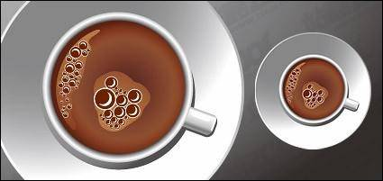 free vector A cup of coffee