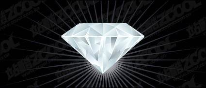 Vector exquisite diamond material