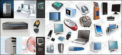 free vector Computer-related equipment