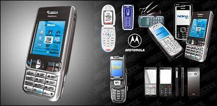 free vector AI format of the mobile phone vector material