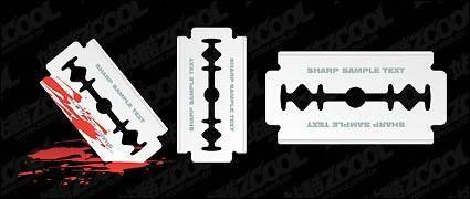 Vector sharp blade material