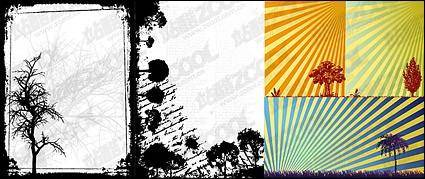 Trees vector-related material