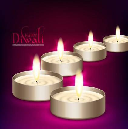 free vector The beautiful diwali background 08 vector