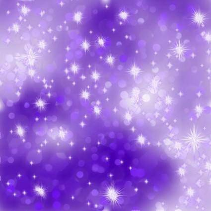 Purple starry background vector