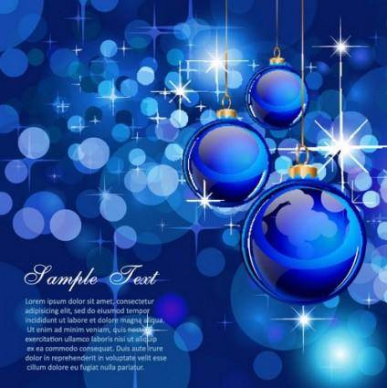 Gorgeous christmas background 04 vector