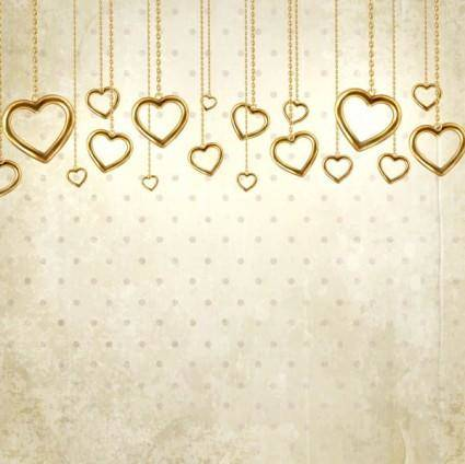 free vector Valentine39s day card background 04 vector