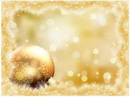 free vector Gorgeous christmas background 05 vector