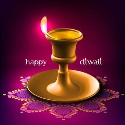 Diwali beautiful background 05 vector