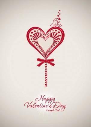 free vector Valentine background 01 vector
