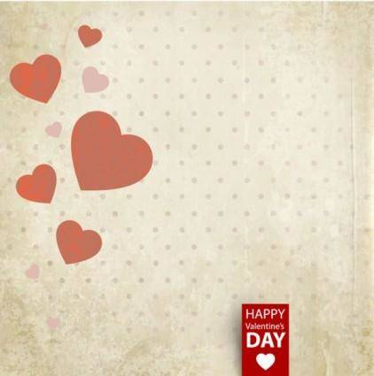 Valentine39s day card background 02 vector