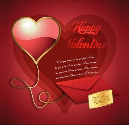 Exquisite valentine background 05 vector