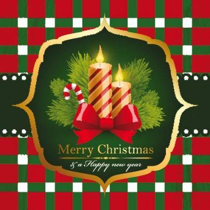 free vector Beautiful christmas background 05 vector