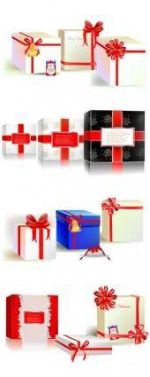 Beautiful gift box vector