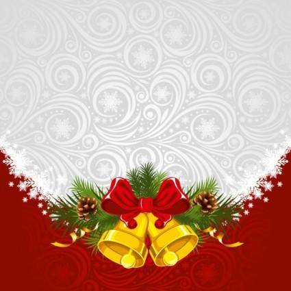 free vector Christmas background 01 vector