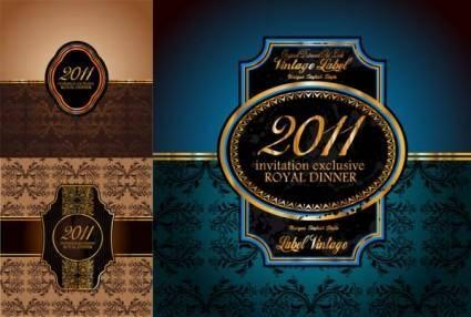free vector 2011 european badge vector
