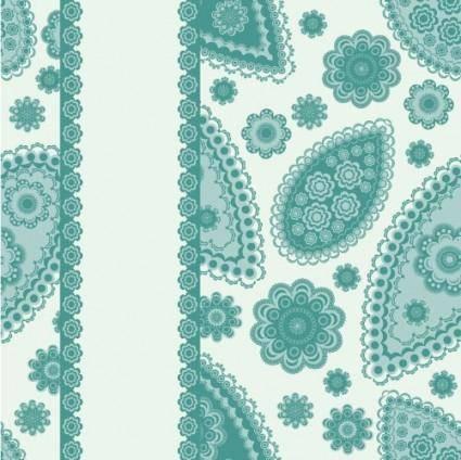 Beautiful pattern background 01 vector