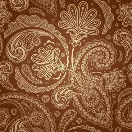 free vector European fine pattern background 01 vector