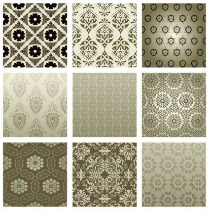 free vector The exquisite pattern background pattern 02 vector