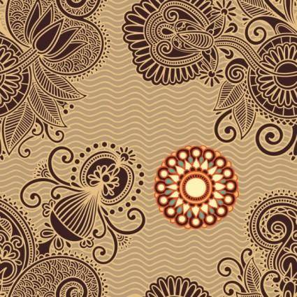 free vector Ham pattern background 05 vector