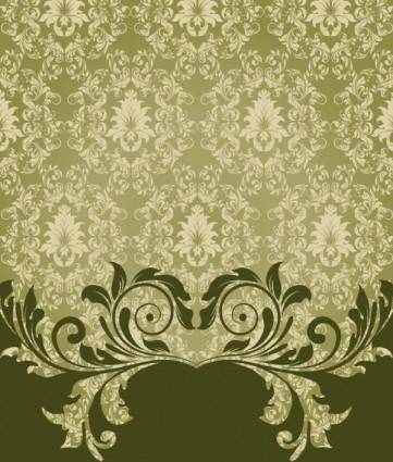 European pattern background 04 vector